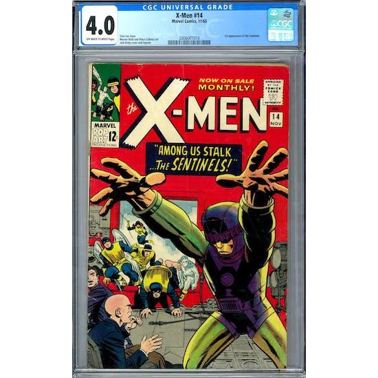 X-Men #14 CGC 4.0 (OW-W) *2006001019*