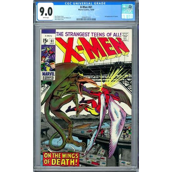 X-Men #61 CGC 9.0 (W) *2006001022*