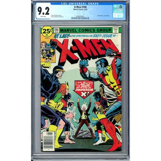 X-Men #100 CGC 9.2 (W) *2006003001*