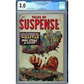 Tales of Suspense #29 CGC 3.0 (OW-W) *2006004003*