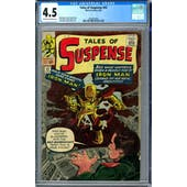 Tales of Suspense #42 CGC 4.5 (OW-W) *2006004004*