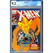 X-Men #58 CGC 9.2 (W) *2006004008*