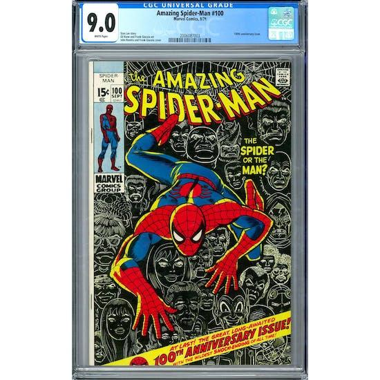 Amazing Spider-Man #100 CGC 9.0 (W) *2006087003*