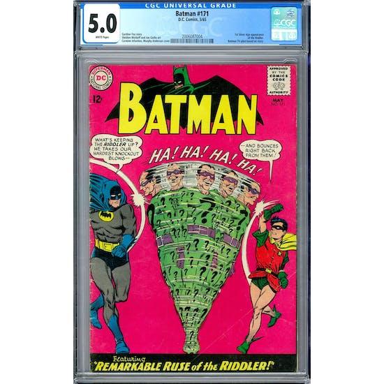 Batman #171 GC 5.0 (W) *2006087004*