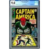 Captain America #103 CGC 9.0 (W) *2006087006*