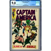 Captain America #104 CGC 9.0 (W) *2006087007*