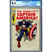 Captain America #109 CGC 8.5 (W) *2006087010*