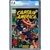 Captain America #112 CGC 7.5 (OW-W) *2006087013*