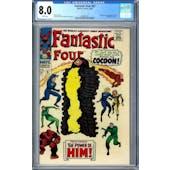 Fantastic Four #67 CGC 8.0 (W) *2006087017*