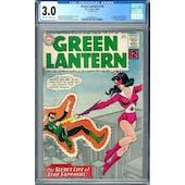 Green Lantern #16 CGC 3.0 (OW-W) *2006087020*