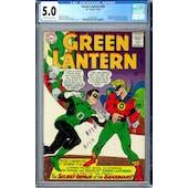 Green Lantern #40 CGC 5.0 (OW-W) *2006087021*