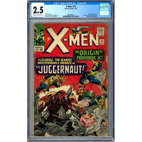 X-Men #12 CGC 2.5 (C-OW) *2006094022*