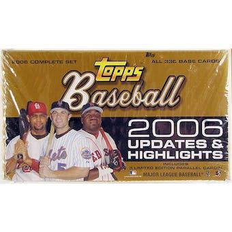 2006 Topps Updates & Highlights Baseball Hobby Set