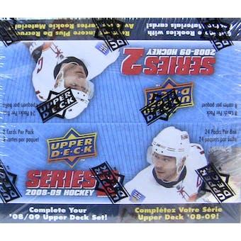 2008/09 Upper Deck Series 2 Hockey Retail Box