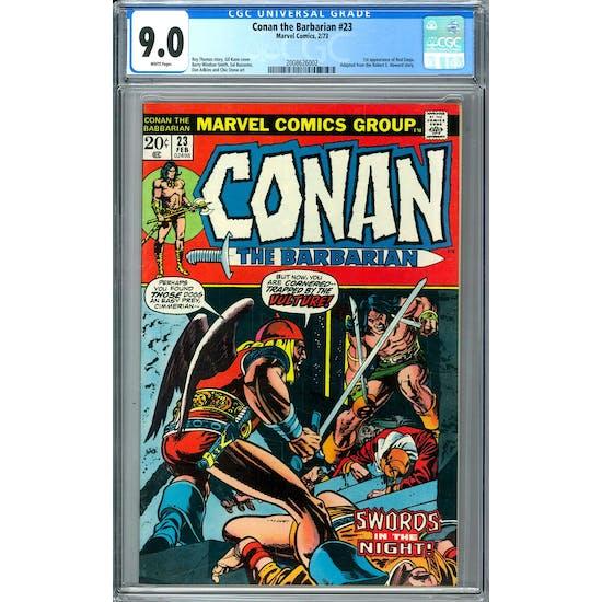 Conan the Barbarian #23 CGC 9.0 (W) *2008626002*