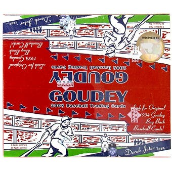 2008 Upper Deck Goudey Baseball Retail Box