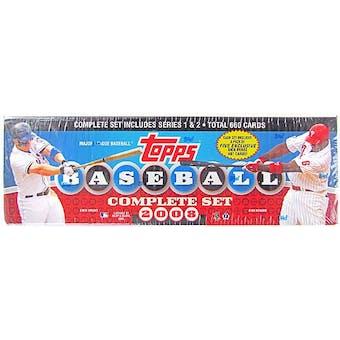 2008 Topps Factory Set Baseball Retail (Box)