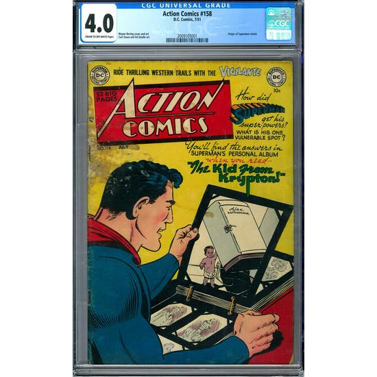 Action Comics #158 CGC 4.0 (C-OW) *2009105001*