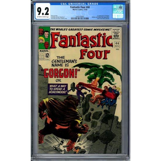 Fantastic Four #44 CGC 9.2 (OW-W) *2009105005*