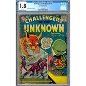 Challengers of the Unknown #1 CGC 1.8 (W) *2009109007*