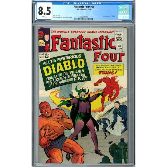 Fantastic Four #30 CGC 8.5 (W) *2009109008*