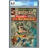 Fantastic Four #33 CGC 6.5 (OW-W) *2009109009*