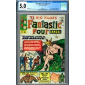 Fantastic Four Annual #1 CGC 5.0 (OW-W) *2009109010*