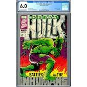 Incredible Hulk Annual #1 CGC 6.0 (OW-W) *2009109012*