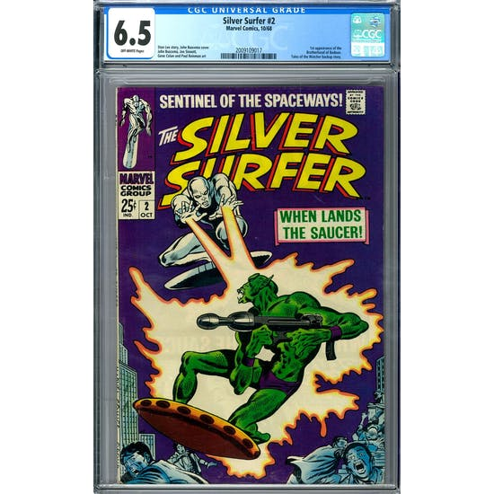 Silver Surfer #2 CGC 6.5 (OW) *2009109017*