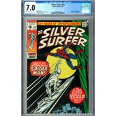 Silver Surfer #14 CGC 7.0 (OW-W) *2009109018*