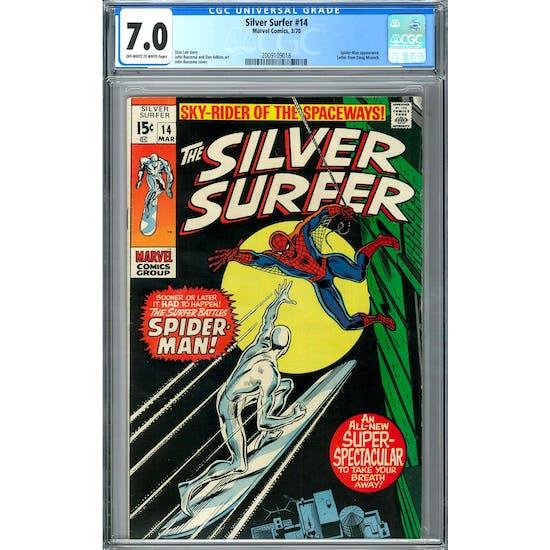 Silver Surfer #14 CGC 7.0 (OW-W) *2009109018*