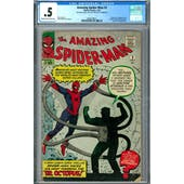 Amazing Spider-Man #3 CGC .5 (C-OW) *2009109021*