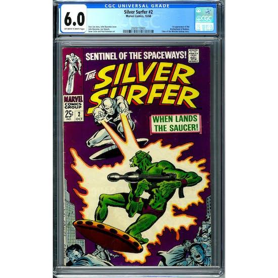 Silver Surfer #2 CGC 6.0 (OW-W) *2009110001*