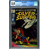 Silver Surfer #4 CGC 2.0 (OW) *2009110003*
