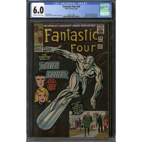 Fantastic Four #50 CGC 6.0 (OW-W) *2009113003*