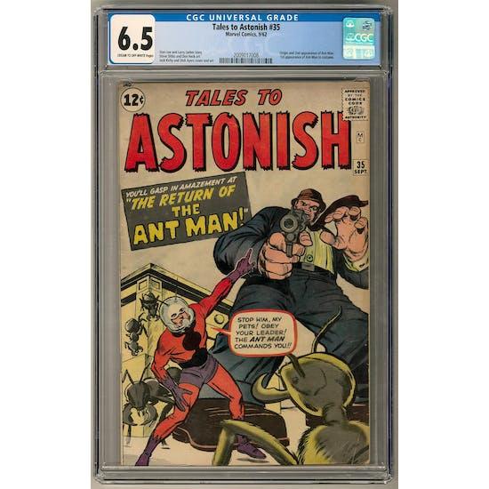 Tales to Astonish #35 CGC 6.5 (C-OW) *2009117008*