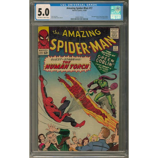 Amazing Spider-Man #17 CGC 5.0 (OW-W) *2009118002*