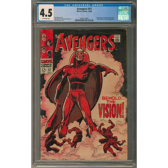 Avengers #57 AVEN1 - (Hit Parade Inventory)