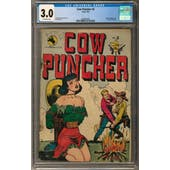 Cow Puncher #2 CGC 3.0 (OW) *2009497002*