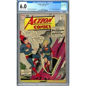 Action Comics #252 CGC 6.0 (C-OW) *2009896001*