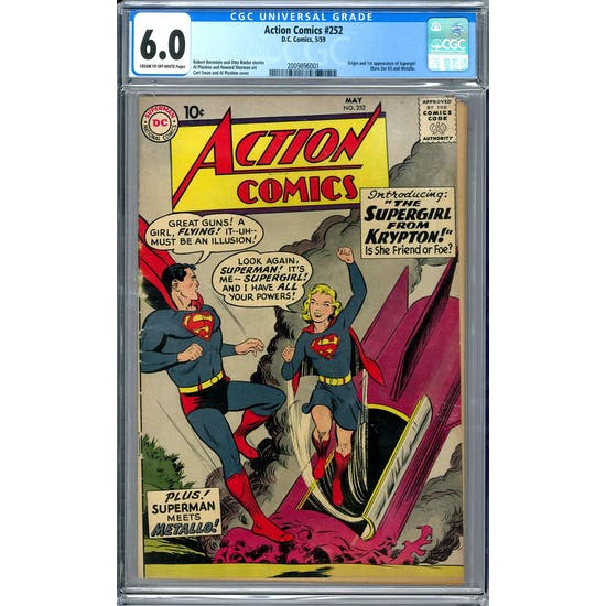 Action Comics #252 CGC 6.0 (C-OW) *2009896001*