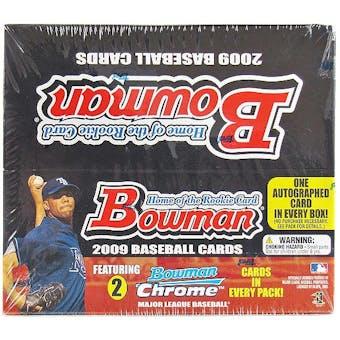 2009 Bowman Baseball 24-Pack Box