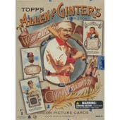 2009 Topps Allen & Ginter Baseball Hobby Box