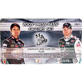 2009 Press Pass Factory Set Racing (Box)