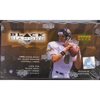 1998 Upper Deck Black Diamond Rookie Edition Football Hobby Box