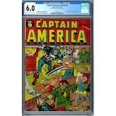 Captain America Comics #9 CGC 6.0 (OW-W) *2010443001*
