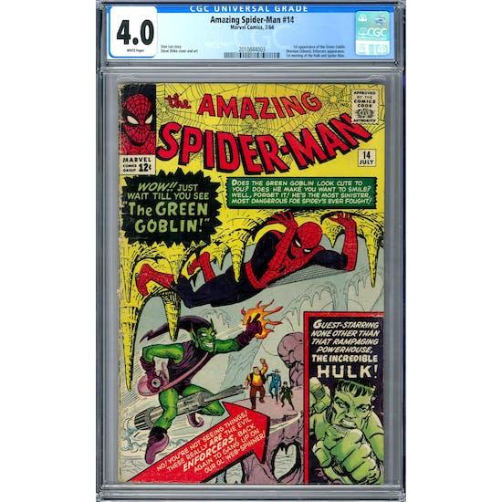 Amazing Spider-Man #14 CGC 4.0 (W) *2010844003*