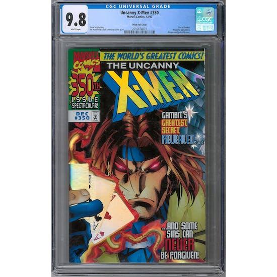 Uncanny X-Men #350 CGC 9.8 (W) Prism Foil *2010874003*