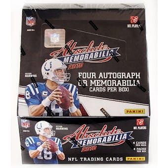 2010 Panini Absolute Memorabilia Football Hobby Box