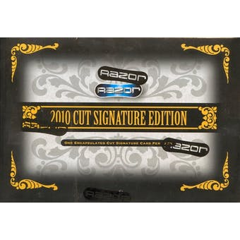 2010 Razor Cut Signature Edition Hobby Box